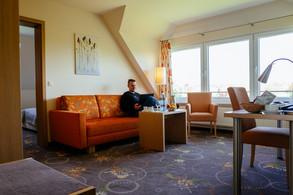 Beispielzimmer zum Arbeiten im Hotel Neeth
