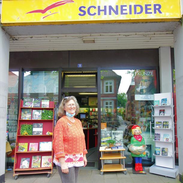 """""""Online kaufen - geht auch regional"""" bei der Buchhandlung Schneider in Plön"""