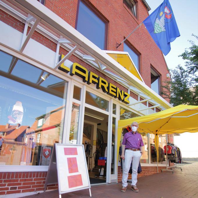 """Bekleidungsgeschäft """"LAFRENZ"""" nun schon seit über 70 Jahren Teil der Lütjenburger Innenstadt"""