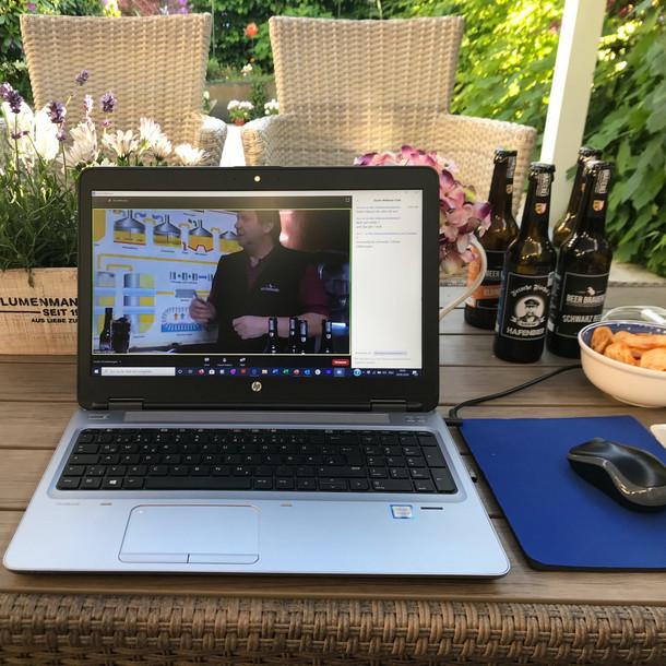 """Das Online-Beertasting der """"Beer Brauerei"""" war ein voller Erfolg"""