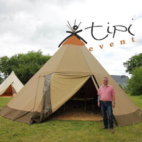 Die Tipi Event GmbH (Selent) vermietet besondere Zelte und kann so Outdoor-Veranstaltungen auch in Corona-Zeiten möglich machen